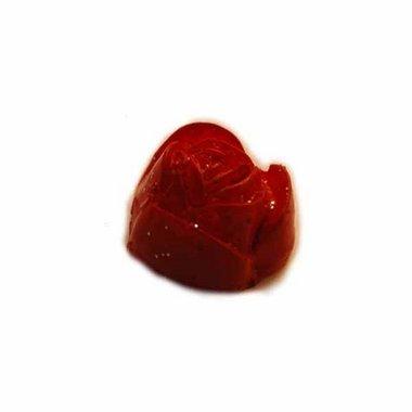 Flatback rode roos 15 mm (10 stuks)