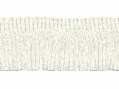 Franjeband gebroken wit ca. 30 mm (ca. 22 meter)