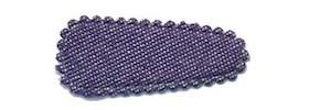 Haarkniphoesje denim donker blauw 3 cm (ca. 100 stuks)