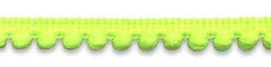 Bolletjesband NEON geel/groen 10 mm (ca. 32 meter)
