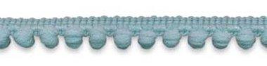 Bolletjesband blauw/grijs 10 mm (ca. 32 meter)