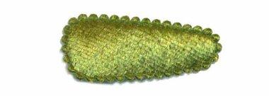 Haarkniphoesje fluweel mosgroen 3 cm (ca. 100 stuks)