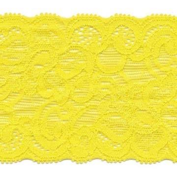 Elastisch kant geel ca. 65 mm (ca. 10 m)