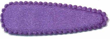 Haarkniphoesje fluweel paars 5 cm (ca. 100 stuks)