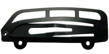 Klik-klak haarknipje bus zwart 5 cm  (ca. 20 stuks)