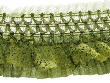 Elastische roezel groen 70 mm (5 meter)