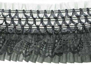 Elastische roezel grijs 70 mm (5 meter)