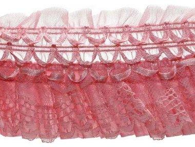 Elastische roezel roze 70 mm (5 meter)