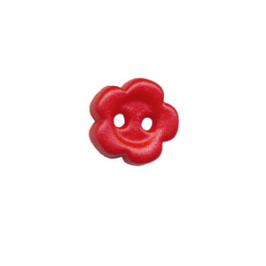 Bloemknoop rood 10 mm (ca. 100 stuks)