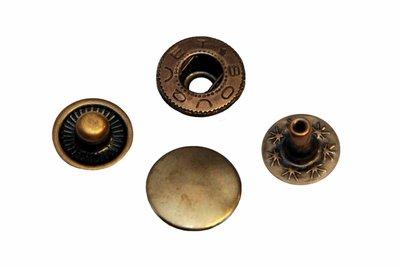 Drukker brons 12 mm, type VT5 (ca. 25 stuks)