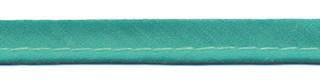 Appelblauwzeegroen piping-/paspelband STANDAARD - 2 mm koord (ca. 10 meter)