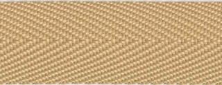 Zand keperband 25 mm (ca. 45 m)