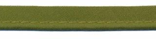 Legergroen piping-/paspelband STANDAARD - 2 mm koord (ca. 10 meter)