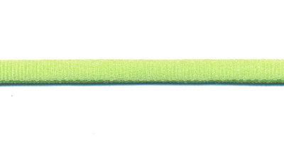 Satijnkoord licht-elastisch limegroen 4x2 mm (ca. 10 m)