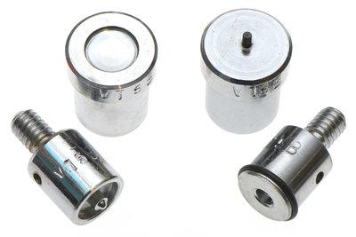 Stempelset t.b.v. handpers voor drukkers 12 mm, type VT5