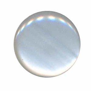 Knoop glans wit 25 mm (ca. 25 stuks)