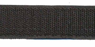Klittenband 25 mm zwart (ca. 18 m)