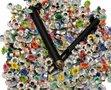 Nestel-bloemetje-mix-kleuren-11-mm-inclusief-gereedschap-(ca.-500-nestels)