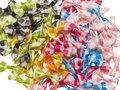 Strikje ruit mix kleuren 40x25 mm (ca. 100 stuks)