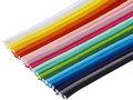 SET: 20 kleuren piping-/paspelband DIK - 4 mm koord (ca. 1300 meter)