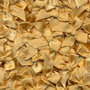 Satijnen strikjes beige (ca. 100 stuks)